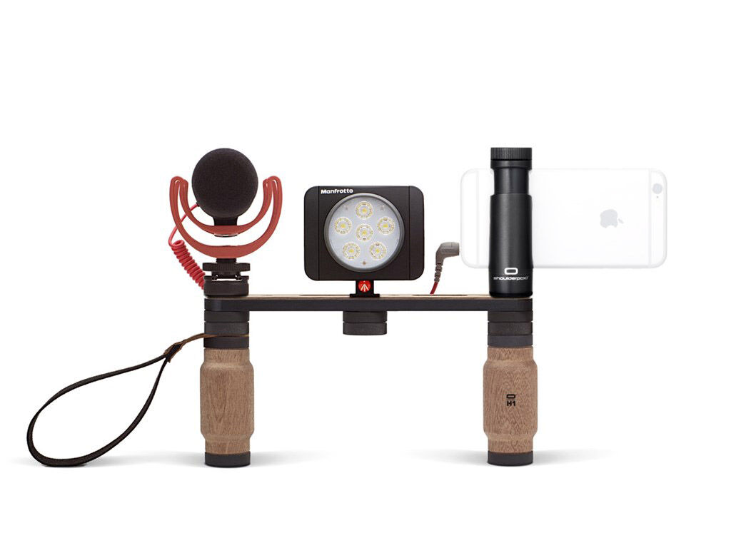 Shoulderpod X1 Pro - Rig + VideoMic GO + LED-belysning Lumie