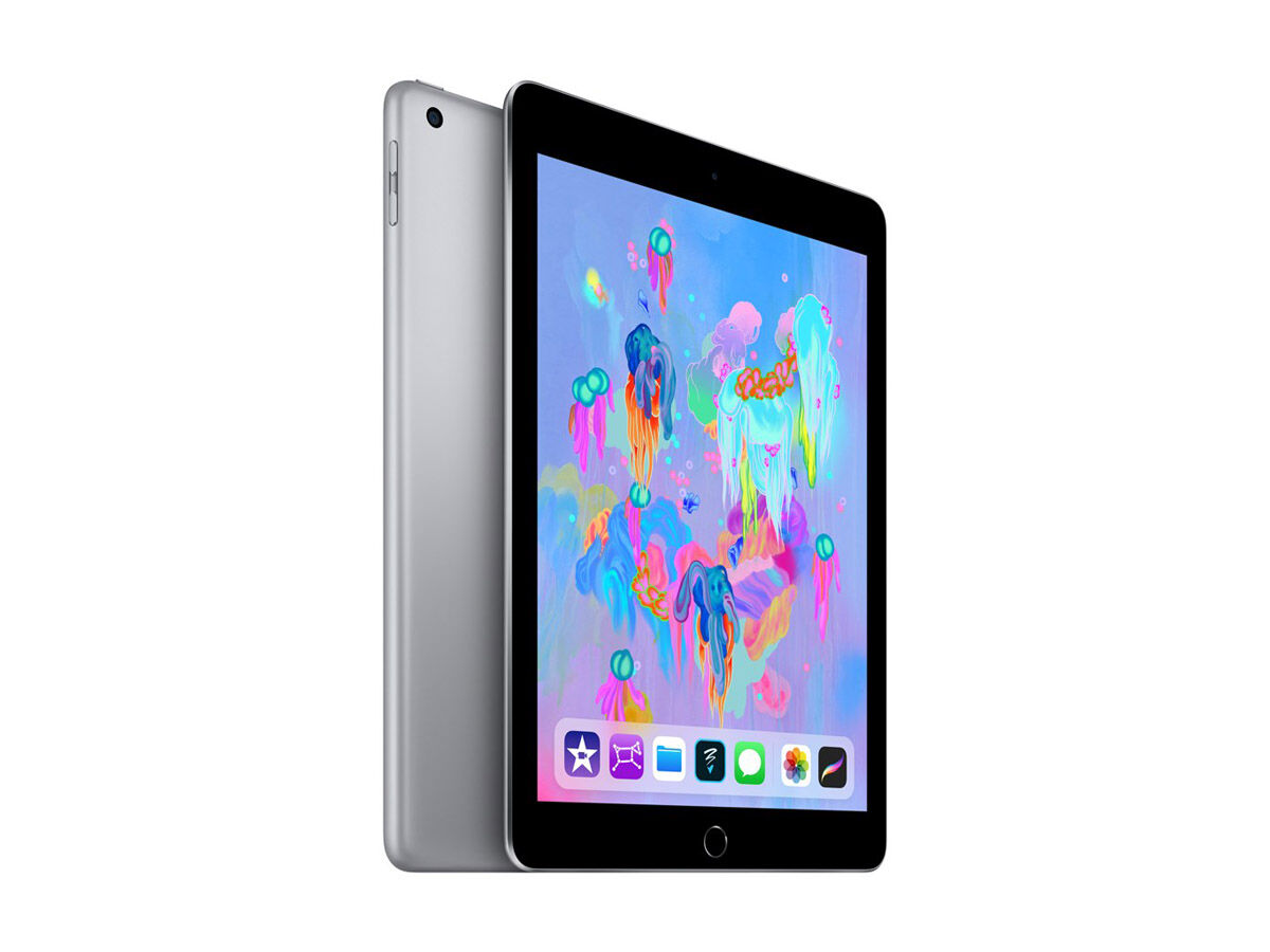 Apple iPad WiFi 32GB rymdgrå (2018)