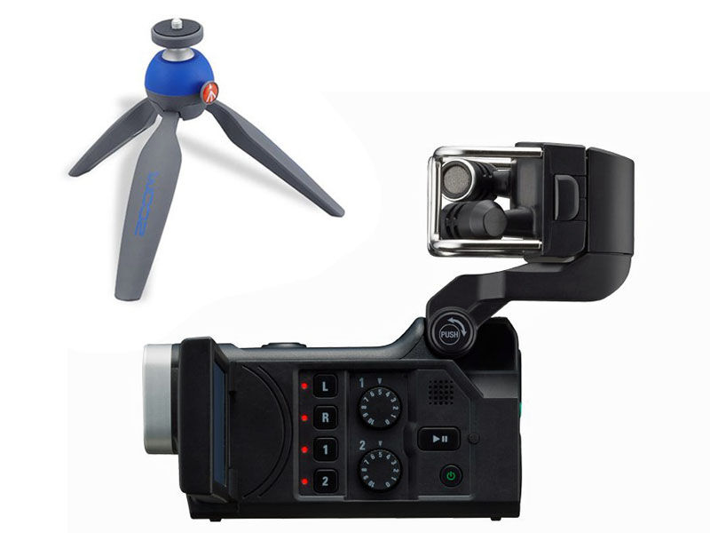 Zoom Q8 Handy Video Recorder + bordsstativ Pixi
