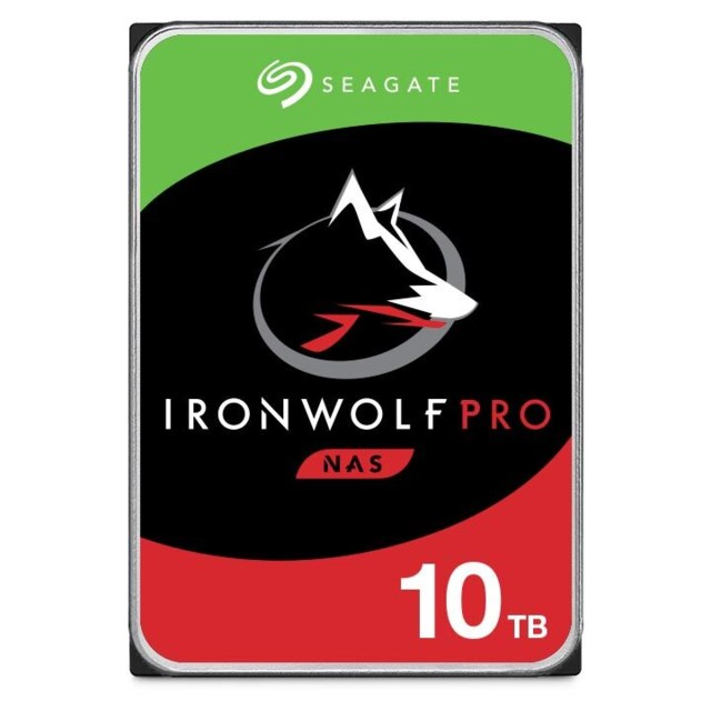 "Seagate IronWolf Pro 10TB 7200rpm 3,5"" intern HDD NAS"