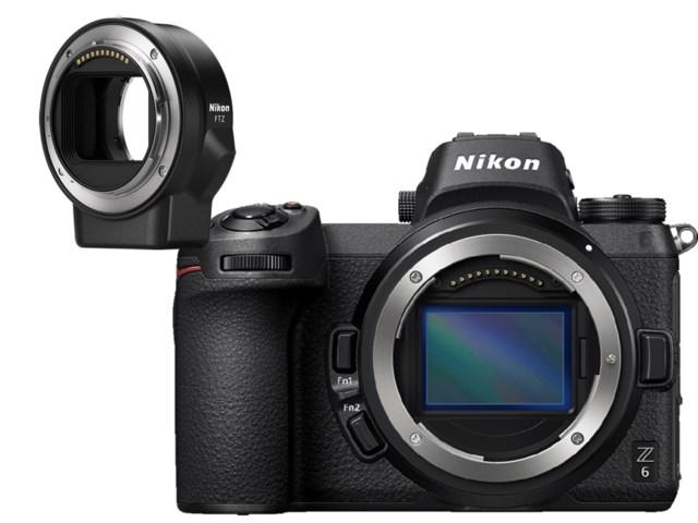 promo code 125f7 b8080 Nikon Z6 Kamerahus med FTZ Adapter