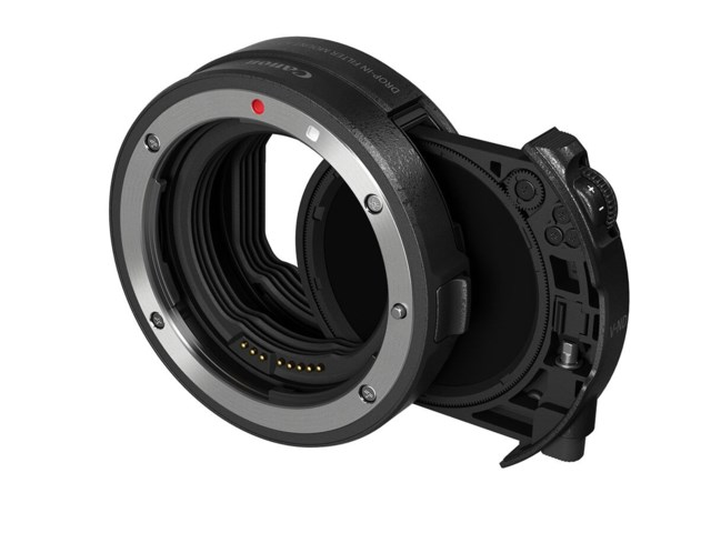 Canon Drop-In Filter Mount Adapter EF-EOS R+ Drop-In Variable ND Filter