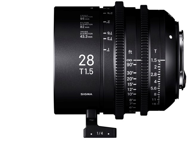 Sigma CINE 28mm T1.5 FF PL-mount