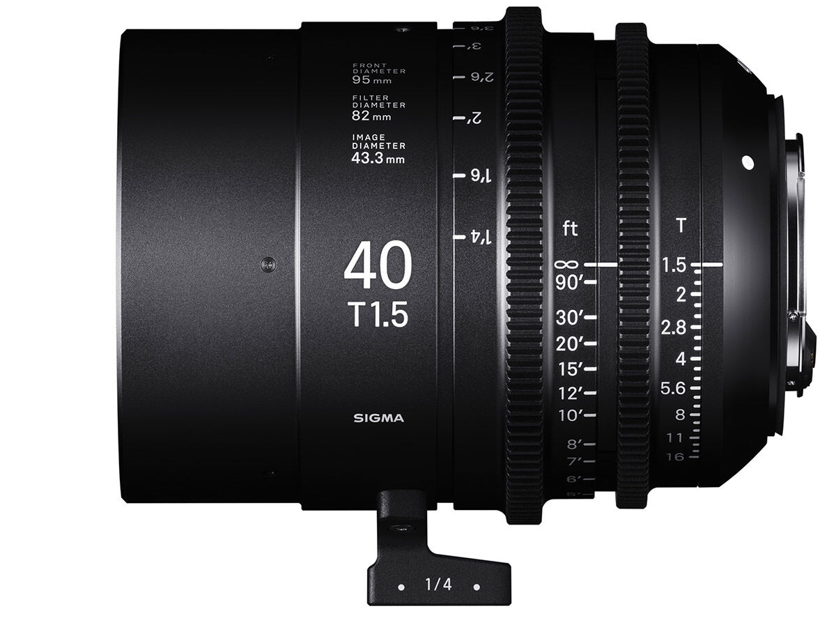 Sigma CINE 40mm T1.5 FF EF-mount