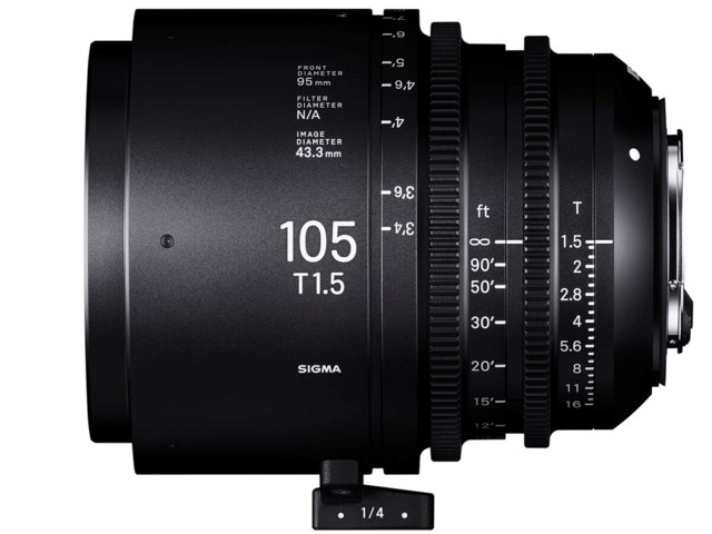 Sigma CINE 105mm T1.5 FF PL-mount