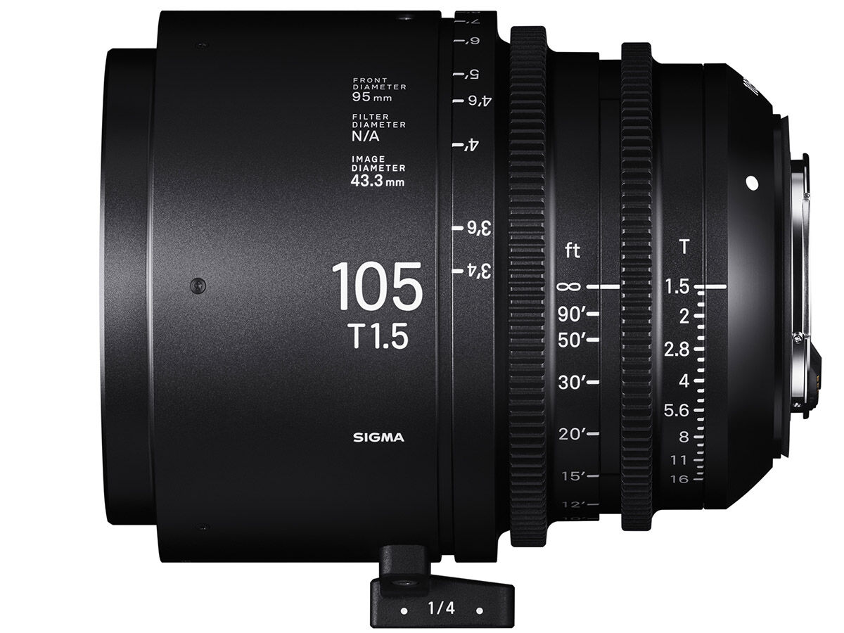 Sigma CINE 105mm T1.5 FF E-mount