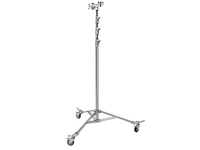 Avenger Overhead Stand 58 steel with braked wheels
