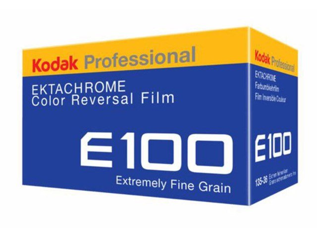 Kodak Ektachrome E100 36X1