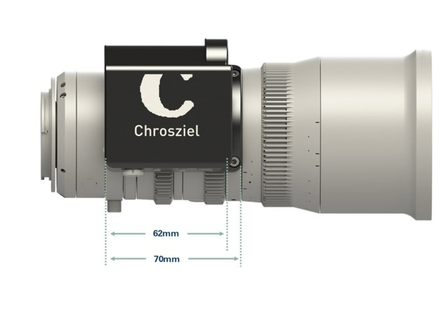 Chrosziel Fujinon MK objektiv clamp-on zoom motopaket