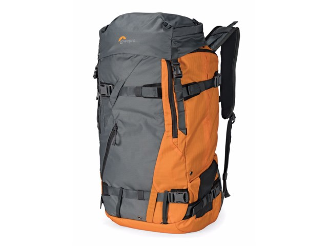 Lowepro Kameraryggsäck Powder BP 500 AW Grey/Orange