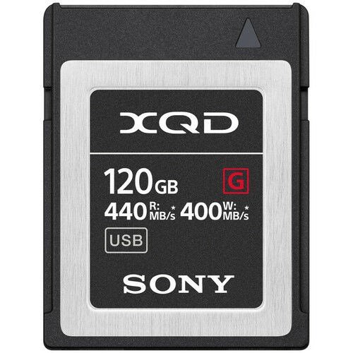 Sony Minneskort XQD G Series High Speed 120GB