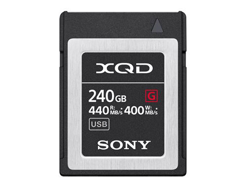 Sony Minneskort XQD G Series High Speed 240GB
