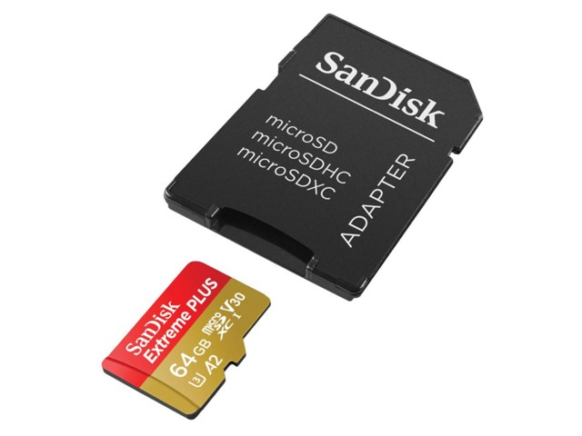 Sandisk Minneskort Secure Digital Micro 64GB SDXC 160MB/s