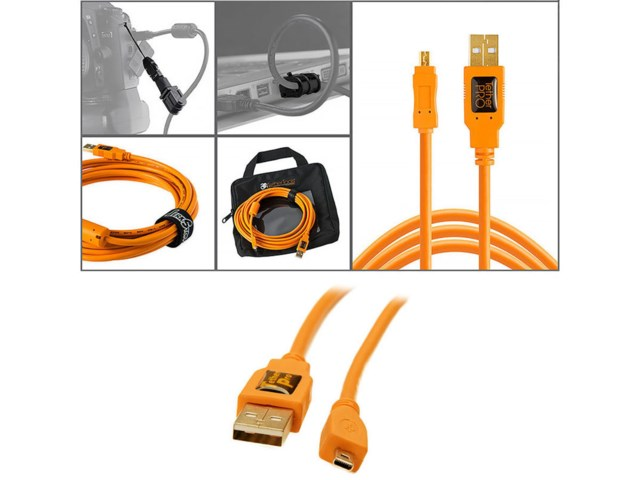 Tether Tools Starter Tethering kit med USB 2.0 mini-B 8pin