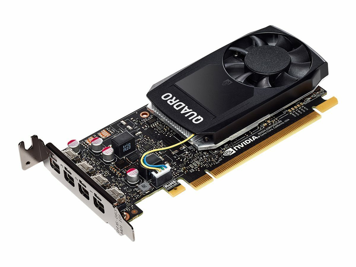 PNY Quadro P1000 4GB DVI PCI Express 3.0 Low Profile