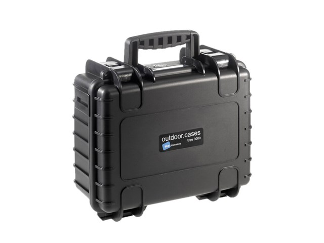 B&W Outdoor Case Type 3000 svart till DJI Mavic 2 Pro/Zoom