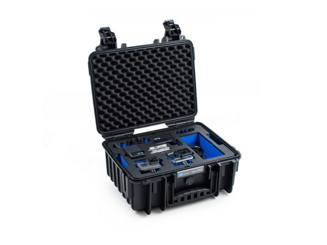 B+W Outdoor Case Type 3000 svart till GoPro Hero 5/6/7