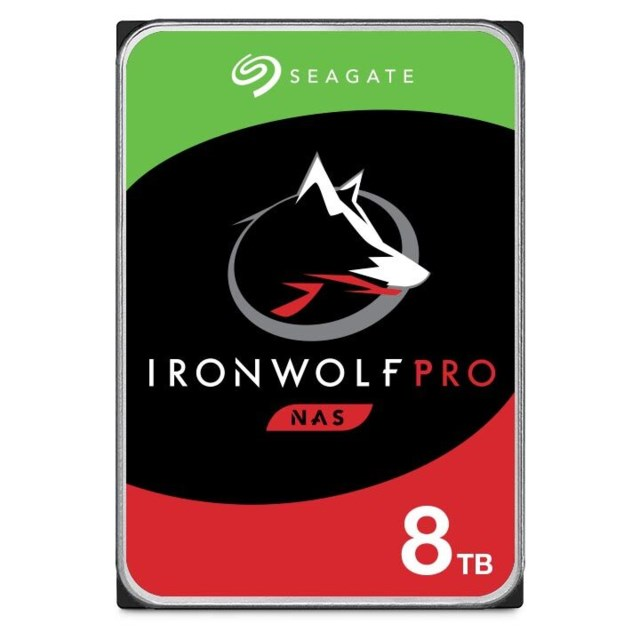 "Seagate IronWolf Pro 8TB 7200rpm 3,5"" intern HDD NAS"