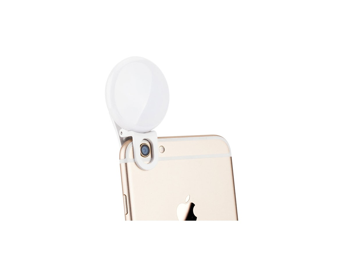 Kiwi Fotos LED-Belysning Selfie Ring Light till Smartphone
