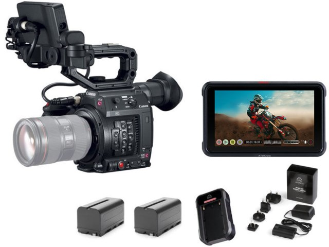 Canon Cinema EOS C200 + Atomos Ninja V Power Kit