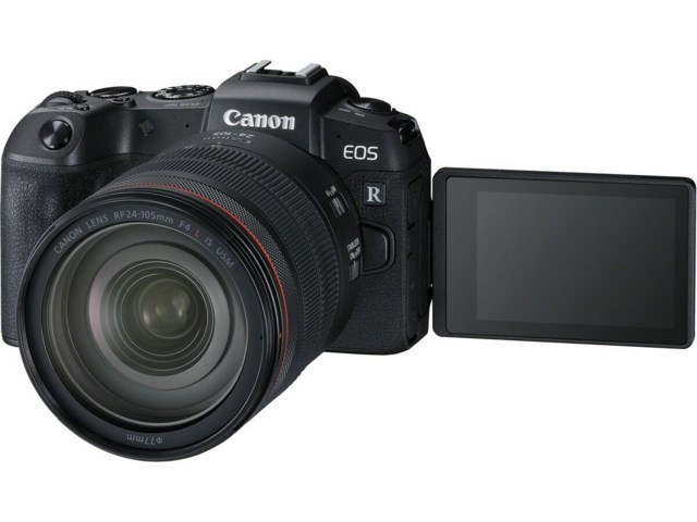 Canon EOS RP med RF 24-105mm f/4L IS USM + Adapter EF-EOS R