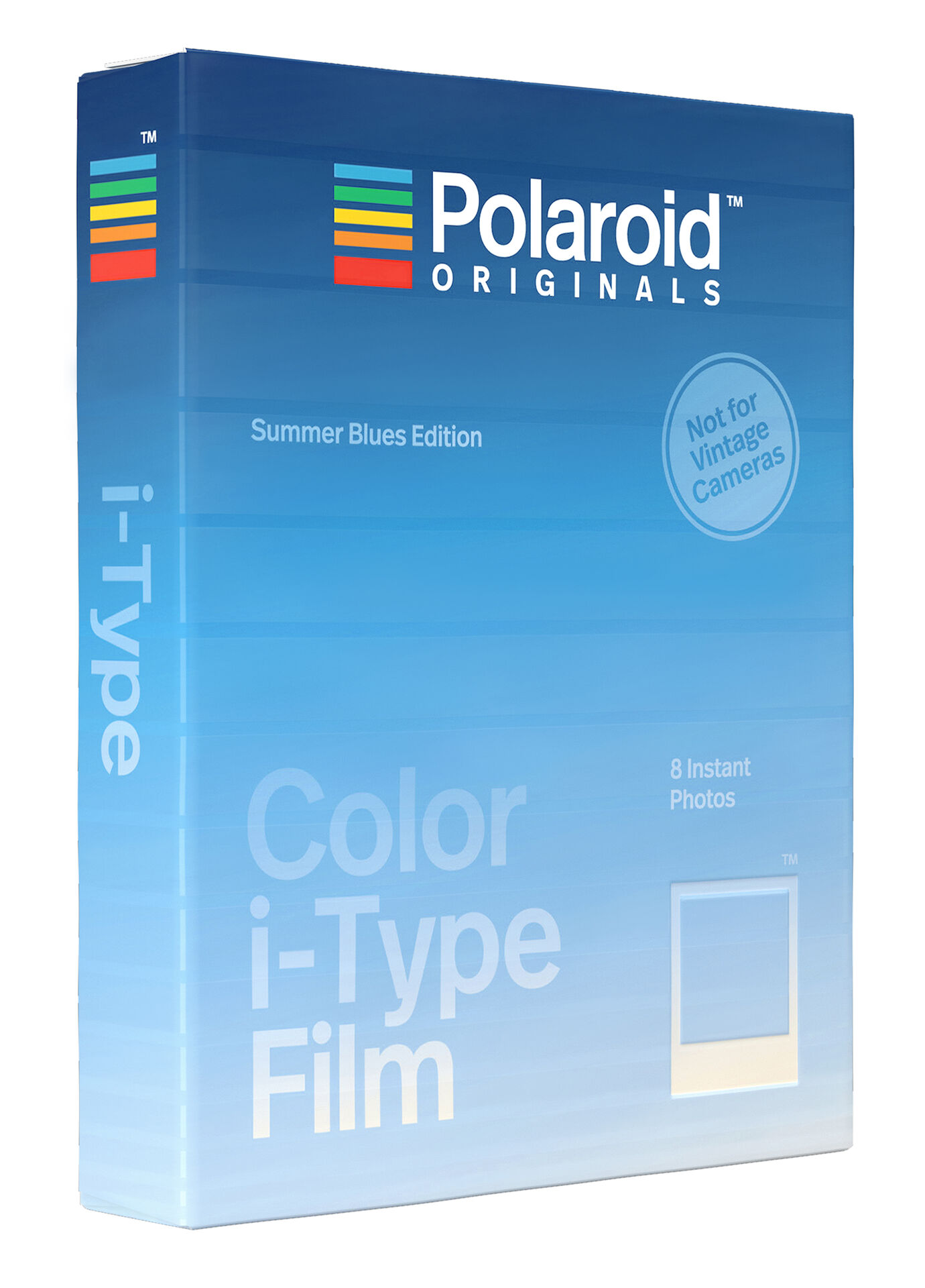 Polaroid Originals Film Color I-Type Summer Blues