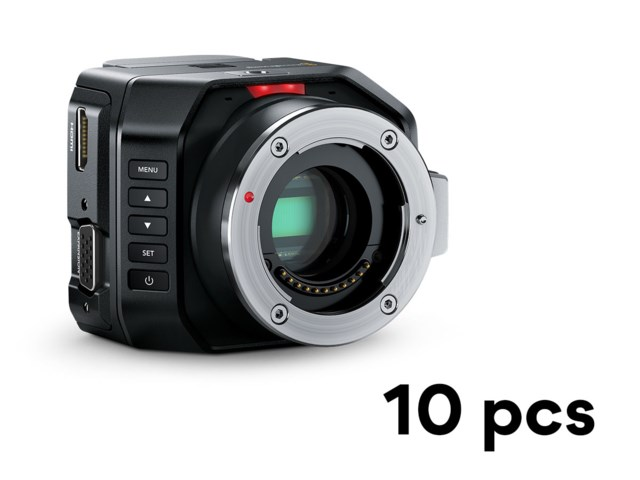 Blackmagic Design Micro Studio Camera 4K 10-pack