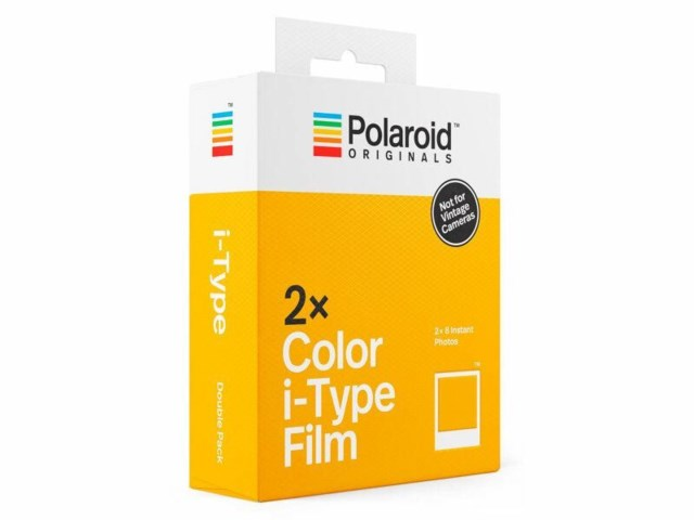 Polaroid Color Film For I-Type 2-pack