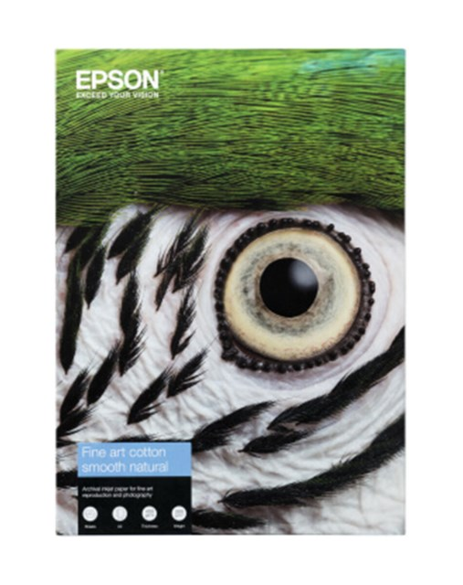 Epson Fine Art Cotton Smooth Natural A4 25Blad