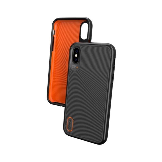 Gear4 D3O Battersea cover iPhone X/XS Svart