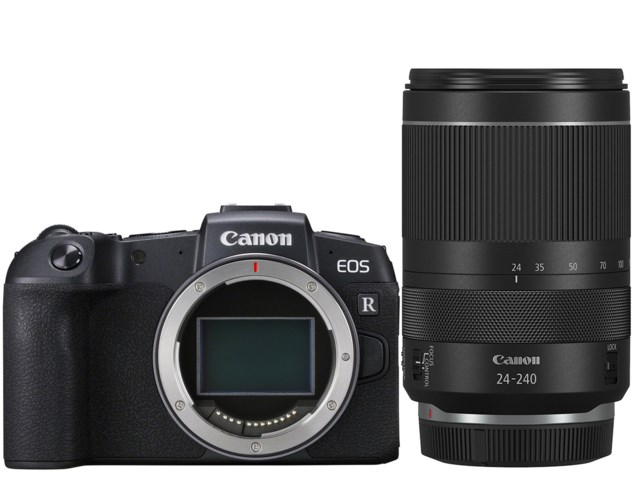 Canon EOS RP med RF 24-240mm F4-6.3 IS USM