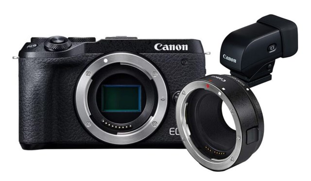 Canon EOS M6 MKII + EF-Adapter bundling + EVF