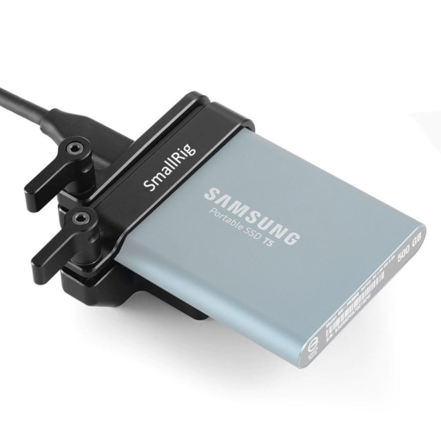 SmallRig SR2245 Mount for Samsung T5 SSD 2245
