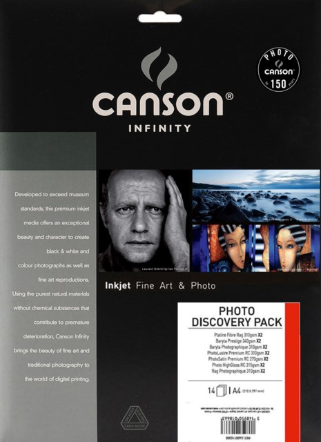 Canson New Photo Discovery Pack A4 14blad