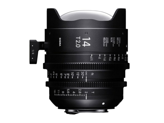 Sigma CINE 14mm T2 FF PL-mount i/Technology