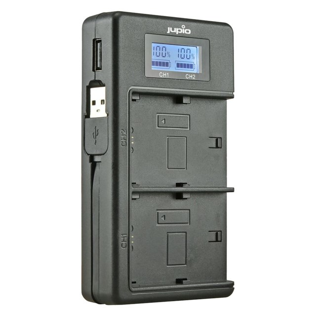 Jupio NP-FW50 Duo charger Sony