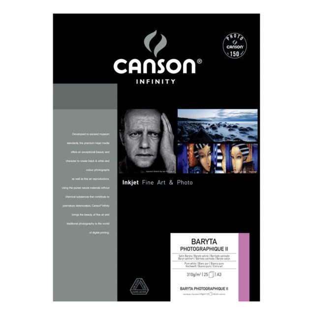 Canson Baryta Photographique II A3 310G 25blad