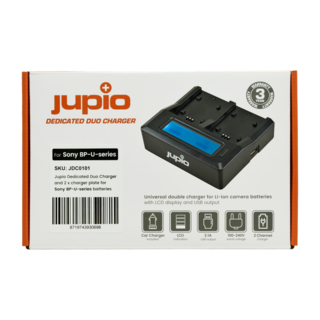 Jupio Duo Charger Sony BP-U
