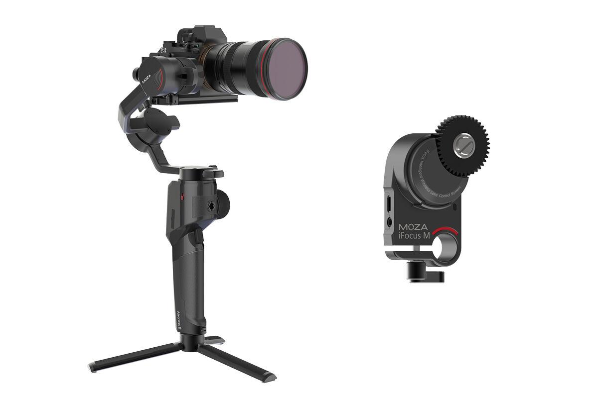 AirCross 2 Gimbal Stabilizer + iFocus M Wireless Lens Motor