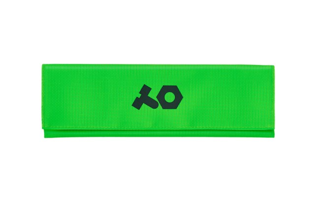 Teenage Engineering PVC Roll Up Neon Green Bag