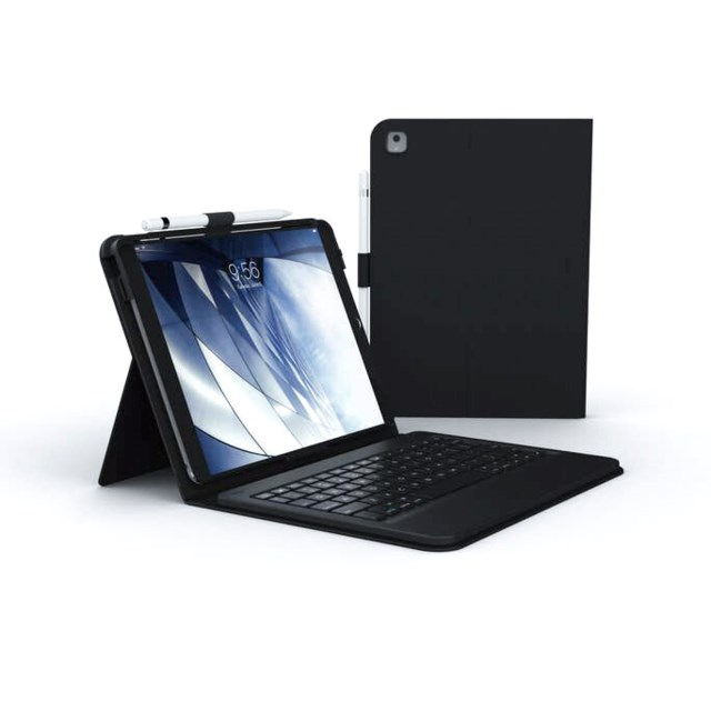 "Zagg Messenger Folio Keyboard & Case Ipad 10,2"" Ipad Pro 10,5"" , Ipad Air 3, Nordic"