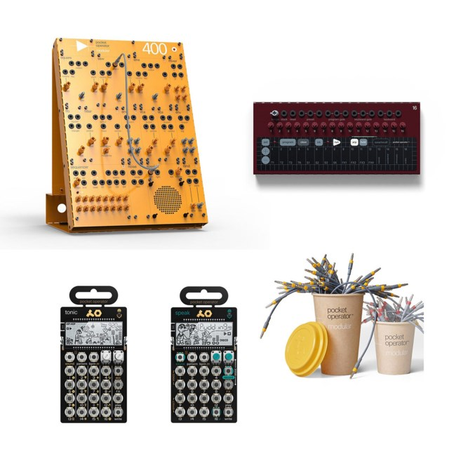 Teenage Engineering POM-400 + POM-16 + PO-32 + PO-35 + Cable kit grande