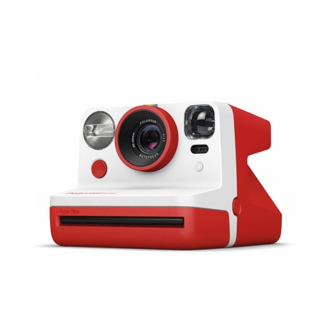 Polaroid Originals Now Red