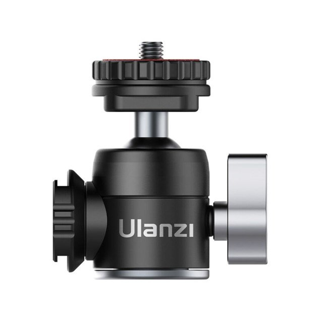 Ulanzi Kulled Dual Cold Shoe 1/4""
