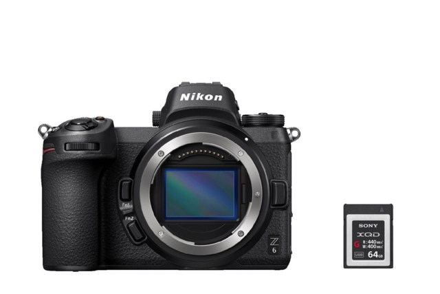 Nikon Z6 Kamerahus + XQD Secure Digital 64GB High Speed