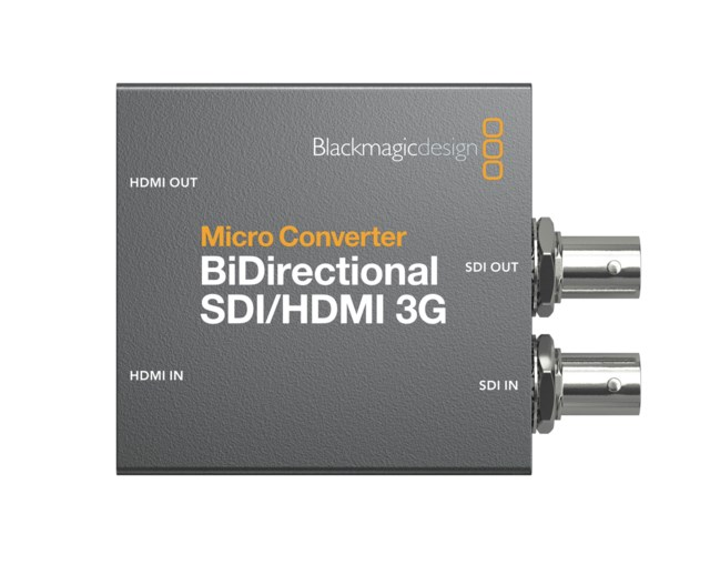 Blackmagic Design Micro konverter BiDirect SDI/HDMI 3G med nätdel