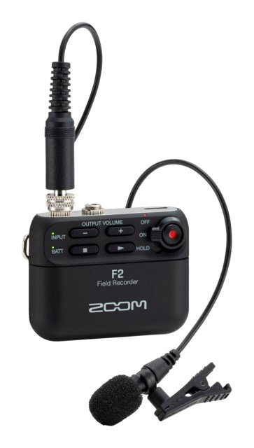 Zoom F2 Field Recorder