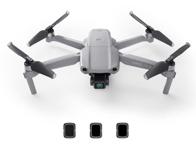 DJI Mavic Air 2 + ND-filterset (ND4/8/32)