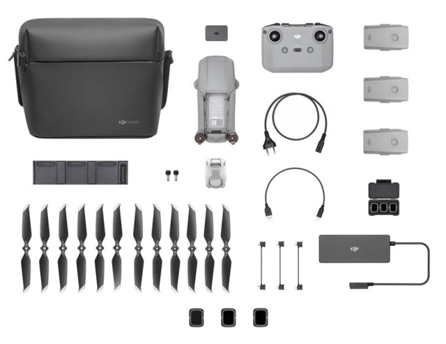 DJI Mavic Air 2 Fly More Combo + ND-filterset  (ND4/8/32)