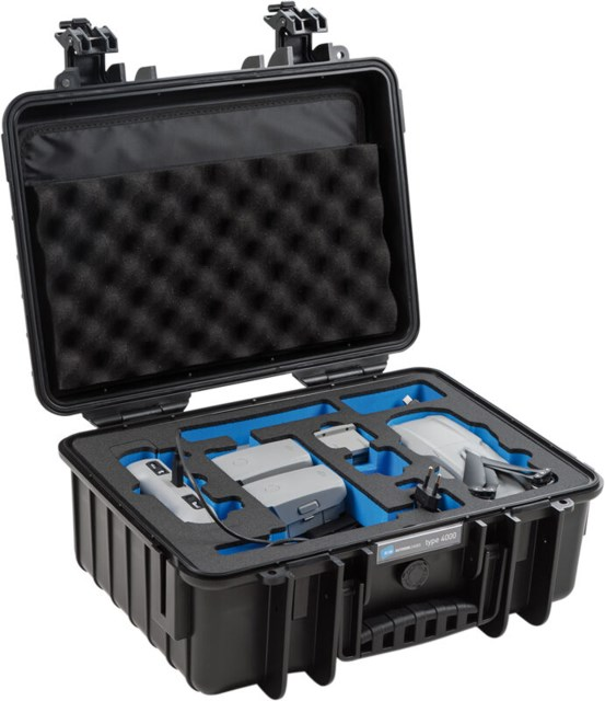B&W Outdoor Case Type 4000 Svart DJI Mavi Air 2 Fly More Kit